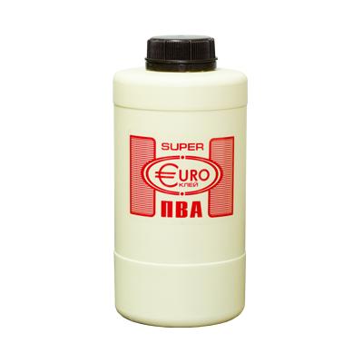 Клей ПВА Super Euro 0,9кг купить по цене 250 руб.