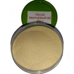 Песок кварцевый ВС-050-1 белый 0,1-0,4мм 50кг