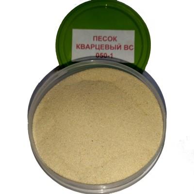 Песок кварцевый ВС-050-1 белый 0,1-0,4мм 50кг купить по цене 250 руб.