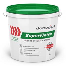 Шпаклевка готовая DANOGIPS ШИТРОК (SUPERFINISH) 5кг