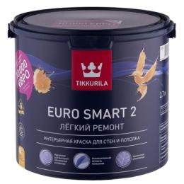 Краска интерьерная Tikkurila Euro Smart 2 2,7л