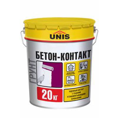 Бетон-контакт Юнис 20кг купить по цене 1 230 руб.
