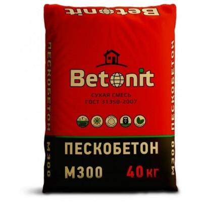 Пескобетон М300 Бетонит 40кг купить по цене 140 руб.