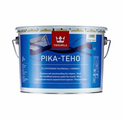 Краска по дереву Tikkurila Pika-Teho белый (база А) 9л купить по цене 7 700 руб.